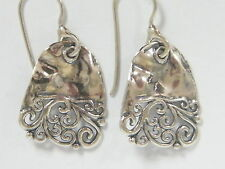 E02159 WOW! SHABLOOL ISRAEL Didae Handcrafted Sterling Silver 925 Earrings