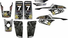 Mm NEW DECAL STICKER KIT IN MX VINYL fits YAMAHA WARRIOR 350(NON OEM)