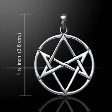 Magical Hexagram .925 Sterling Silver Pendant by Peter Stone