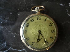 HAMILTON POCKET WATCH - 1922 12S 910 17 JEWELS, GOLD FILLED - RUNS