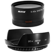 58mm Hood Flower Petal,Wide Angle Lens for Sony Alpha NEX-5 NEX-3 Camera NEW USA