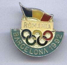 Orig.Teilnehmer Pin    Olympische Spiele BARCELONA 1992 - TEAM RUMÄNIEN  !!  TOP