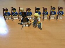 LEGO GENUINE PIRATES MINIFIGURES  BLUE COAT SOLDIERS BRAND NEW