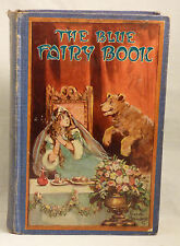 The BLUE FAIRY BOOK Andrew Lang Every Child'S Library Saalfield Early Edition