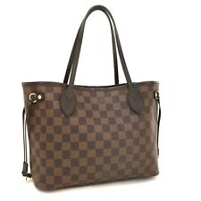 100% Auth Louis Vuitton Damier Neverfull PM Tote Hand Bag /172
