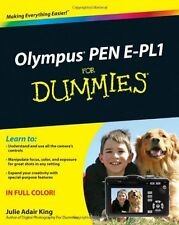 New Olympus Pen E-PL1 for Dummies  free shipping