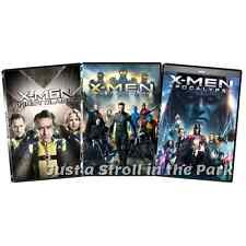 X-Men Reboot Trilogy First Class + Days of Future Past + Apocalypse Box/DVD Sets