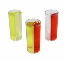Shot Glass Split with Chaser - Splitshooters - 20 Pack - Perfect for Parties,...