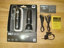 BRAND NEW CATEYE VOLT 300 FRONT HEAD BICYCLE LIGHT USB RECHARGE *EXTRA BATTERY*