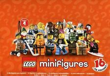 LEGO 8804 Box/Case of 60 MINIFIGURES SERIES 4 NEW SEALED
