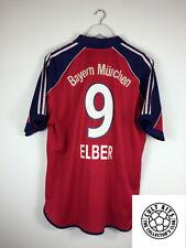 Bayern Munich ELBER #9 00/01 Home Football Shirt (XL) Soccer Jersey