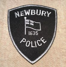 MA Newbury Massachusetts Police Patch (Subdued)