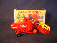 Matchbox Major Pack M-5 Combine Harvester Diecast Farm Equipment W/Box