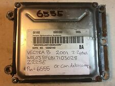 Opel Vauxhall Vectra Z22SE ECU 09391263 DNSL 12202143 BA *With PIN*