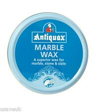 Antiquax Marble Wax 100ml Wax Polish for Stone Slate Granite Cleans and Polishes