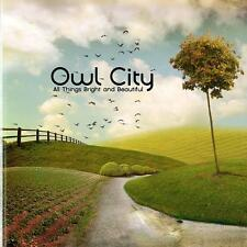 Owl City - All Things Bright And Beautiful (CD 2011)