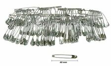 24pc 40mm Safety Pins Ideal Running Cycling & other Sports Events Nappy Pins