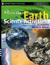 Hands-On Earth Science Activities For Grades K-6 (J-B Ed: Hands On), Ed.D. Marvi