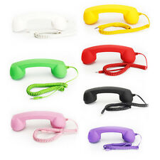 Hello Moshi PHONE 3.5 mm Wired Retro Handset Mobile iPhones & Android Phones