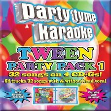 Party Tyme Karaoke: Tween Party Pack, Vol. 1 [5/13] by Karaoke (CD May-2014) NEW