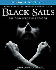 Black Sails: The Complete First Season (Blu-ray HD) Brand New Free Shipping