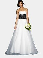 Nicholas Millington Black Lace Wedding Dress
