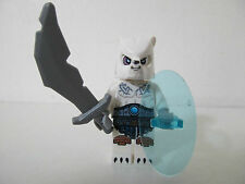 LEGO MINIFIG LEGEND OF CHIMA - ICE BEAR WARRIOR 1 set 70230 Ice Bear Tribe Pack