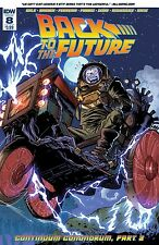 Back To The Future #8 Nm Idw Comic - Vault 35