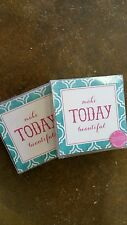 "NWT...TWO'S COMPANY ""CHIT CHAT"" (12) PAPER COASTERS, set of 2 for $20.00"
