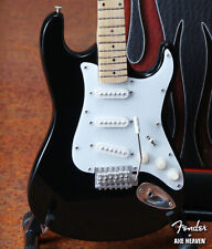 Officially Licensed Fender Black Stratocaster Mini Guitar - Ritchie Blackmore