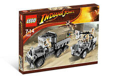 NEW Lego Indiana Jones 7622 Race for the Stolen Treasure SEALED