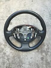 Megane black leather steering wheel 2003-2008. FULL CAR BREAKING
