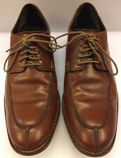 Cole Haan Nike Air Colton Split Toe Oxfords  Walnut Brown Men's 9 M C09022