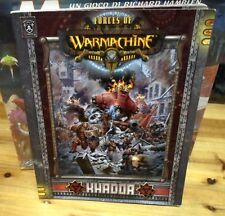 Warmachine Forces of Khadda Army Book Steam Powered Miniature Combat