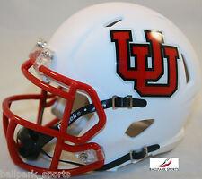 UTAH UTES (INTERLOCKING U) Riddell Speed Mini Helmet