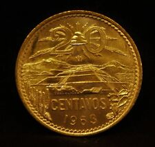 1963 Mexico 20 Centavos - Uncirculated