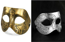 2PC Antique look Mens Carnival Masquerade Face Eye Mask Fancy Ball Gladiator Par