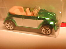 Hotwheels Classics series 2 #21 VW BUG CONVERTIBLE aqua  volkswagon beetle