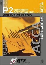 ACCA - P2 Corporate Reporting (INT): Study Text by Get Through Guides (Paperback