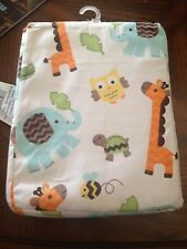 Deep Pocket top Fitted Sheet Baby Crib, Toddler Bed Owl, Alligator Elephant zoo