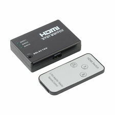 3 Port 1080P Video HDMI Switch Switcher Splitter IR Remote For HDTV PS3 DVD F7S