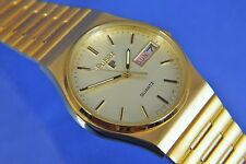 Vintage Pulsar Quartz Gents Retro Watch Circa 1980s New Old Stock NOS + Orig Box