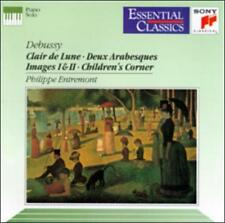 Debussy: Piano Music Claude Debussy CD, Essential Classics, Sony Classical, 1992
