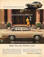 1967 HR HOLDEN PREMIER SEDAN A3 POSTER AD SALES BROCHURE ADVERTISEMENT ADVERT