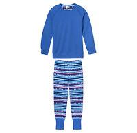 SCHIESSER Mädchen Pyjama lang Motiv Retro Gr. 140 152 164 176 Schlafanzug NEU