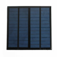 Solar Panel polycrystalline for Light Battery Phone Charger 12V Watt 3W 250ma