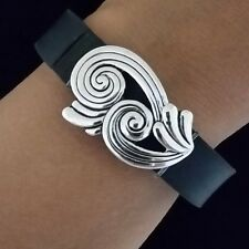 """Fitness Band Wraps ~Bling/Charm Jewelry For Fitbit Flex/Jawbone/Various """" Wave"""""""