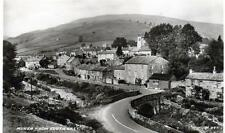 Muker from South East Swaledale unused sepia RP old pc Valentines 1939 Good