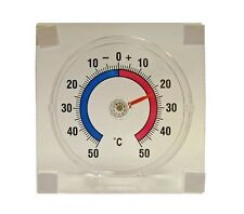 FAITHFULL Thermometer Stick On window Adhesive Fridge Celsius Fahrenheit TB-FAI1
