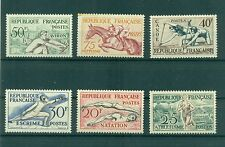 SPORTS - FRANCE 1953 Common Stamps